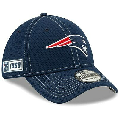New England Patriots New Era 2019 NFL Sideline Road Official 39THIRTY Flex Hat -
