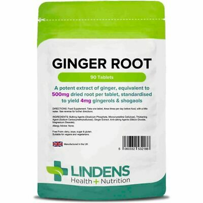 Ginger Root help to support digestive health 500mg Tablets