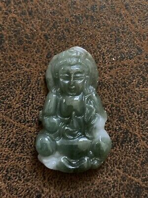 Small Jade Buddha Green