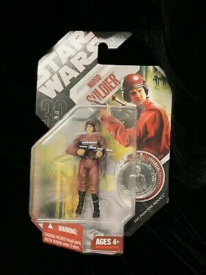 Star Wars 30th Annivesary Ep I TPM Naboo Soldier Bodyguard With #52 Coin NOSC