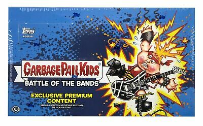 Topps Garbage Pail Kids Battle of the Bands Hobby COLLECTOR Edition Box SEALED!
