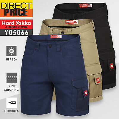 Hard Yakka Work Shorts Cargo Legends Short Heavy Duty Tough Cotton Y05066 NEW