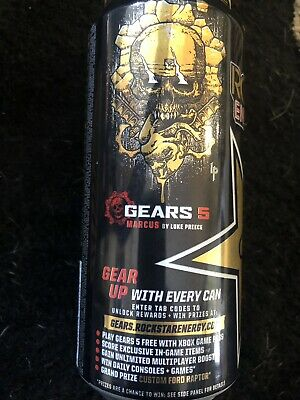 Gears of war 5 EXCLUSIVE ROCKSTAR can #4 of 6.  Code Only. 1 Tab Included