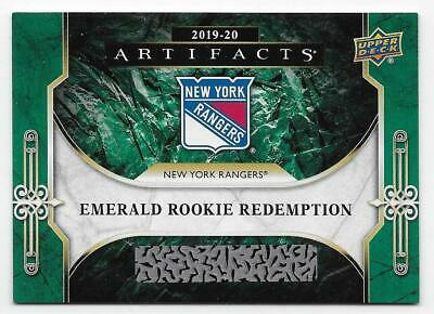19/20 UD ARTIFACTS EMERALD ROOKIE REDEMPTIONS (#RED181-RED220) U-Pick From List