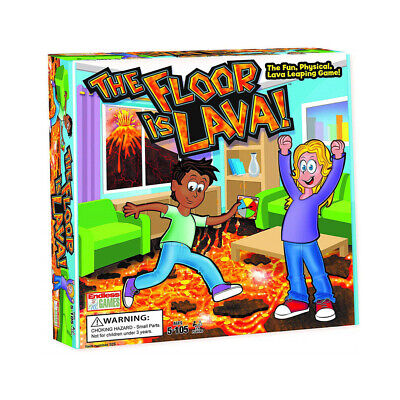 The Floor is Lava! Interactive Board Game for Kids and Adults (Ages 5+) Fun Gift