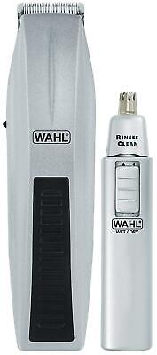 Wahl Cordless Beard Mustache Trimmer Kit Battery Operated Hair Shaver Groomer
