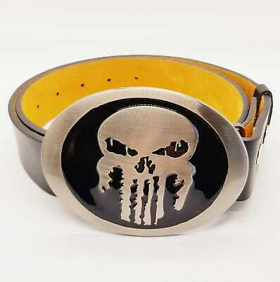 Punisher Skull belt buckle Marvel superhero comic UK Seller