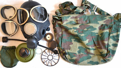 Genuine Russian Gas Mask PMK-3 with Canvas Bag Full Set New