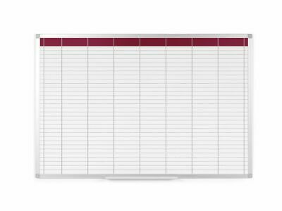 Staples Weekly Board Planner, Dry-Wipe Magnetic Surface, 687 x 910 mm + 24h Del