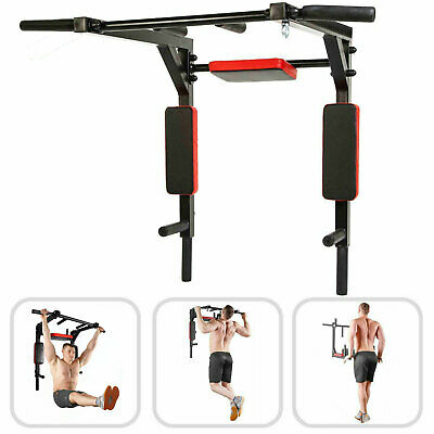 XN8 Wall mounted Chin Pull up Bar Gym Fitness Multi Exercising Power Rope Slings