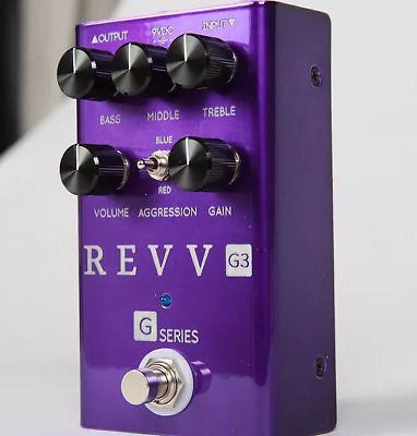 Revv G3 Distortion pedal, Brand New in Box! In Stock Now! Free 2-3 Shipping U.S.
