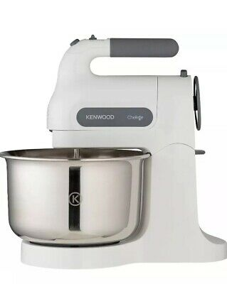 Kenwood HM680 Chefette 350W Hand Mixer with Stand - White.