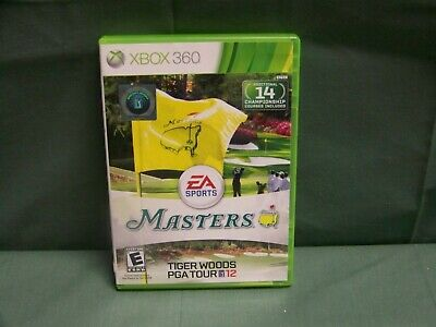 Tiger Woods PGA Tour 12: The Masters (Microsoft Xbox 360, 2011) No Manual