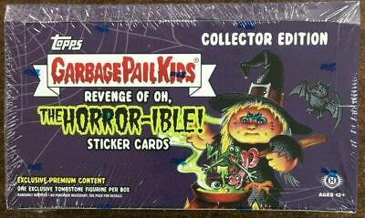 2019 Garbage Pail Kids #2 REVENGE OF OH, THE HORROR-IBLE COLLECTOR'S Box SEALED