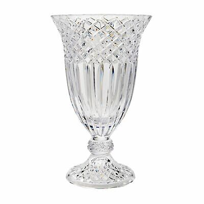 Waterford Crystal Limited Edition 15 Footed Vase Inspired by Jorge Perez
