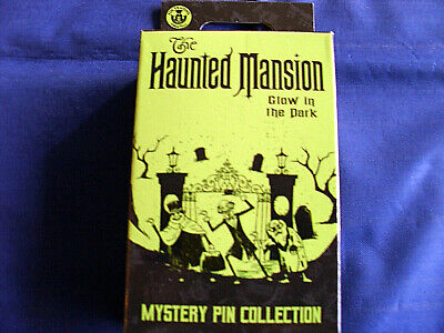 Disney * HAUNTED MANSION * Glow in the Dark * New & Sealed 2-Pin Mystery Box