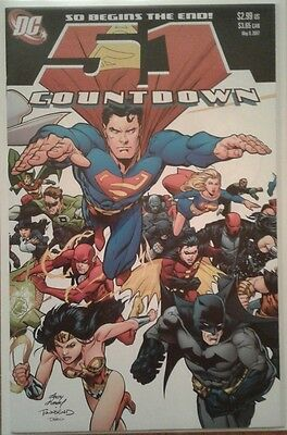 """Countdown to Final Crisis"" full 1st print series w/ Universe #0 & Last Will, DC"