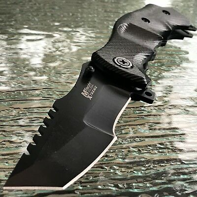 "9"" MTECH G-10 TACTICAL COMBAT SPRING ASSISTED TANTO FOLDING KNIFE Blade Pocket"
