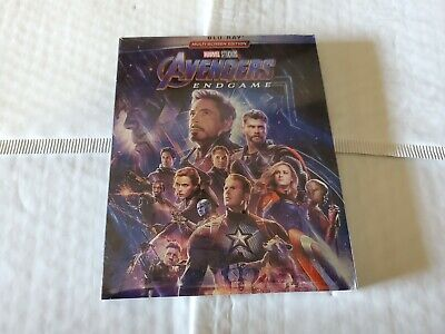 Avengers: Endgame (Blu-ray, 2019) Brand New Free Shipping!