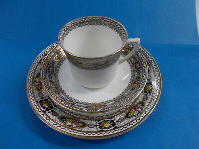 Lovely Royal Stafford Trio Set - Bone China Made In England Gc # 278
