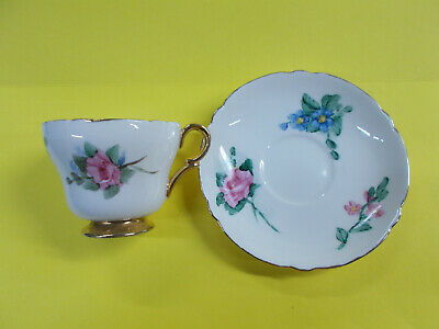 Lovely Antique Shelley Duo - Dainty Cup And Saucer - Fine Bone China Engl # 264