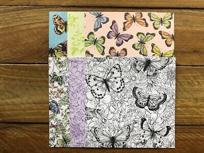 "Stampin' Up! 6x6 Designer Paper Pack ""Botanical Butterfly"""