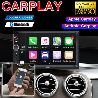 "7.0"" Double Din Car Stereo Radio for Apple CarPlay Android Carplay FM MP5 Player"
