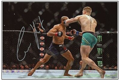 CONOR McGREGOR UFC MMA SIGNED 6x4 PHOTO PRINT AUTOGRAPH SIGNATURE BOXING