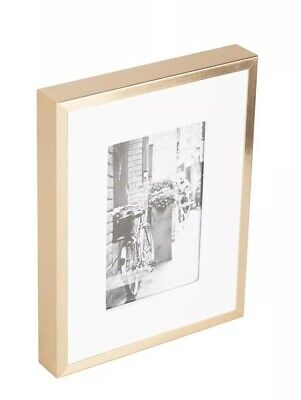 Portico 10x8 Texture Linen Slate Grey Picture Frame Wall Desk Poster Mount Photo