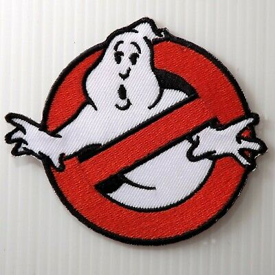 """3.0""""x1 pc. ghostbusters embroidered embroidery iron on sew patches badge"""