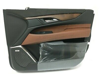 Front RH Passenger Side Door Trim Panel Cadillac Escalade Suede Kona Leather New