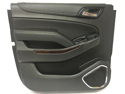 Rear LH Driver Side Door Panel Assembly Jet Black GMC Yukon XL New OEM