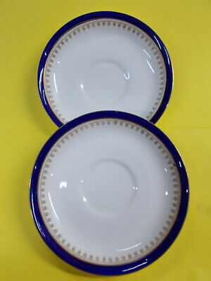 LOVELY SAUCERS x 2 YE OLDE ENGLISH GROSVENOR CHINA JACKSON AND GOSLING ENG # 551