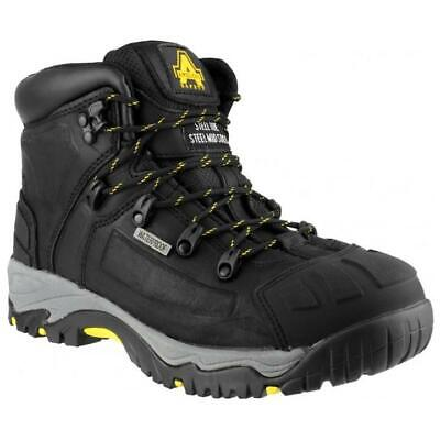 AMBLERS FS145 S3 brown waterproof safety boot with midsole size 6-13