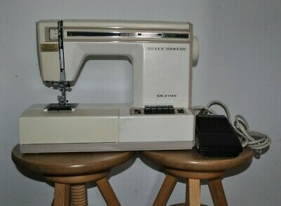 Janome NEW HOME SR2100 Model 627 Heavy Duty Sewing Machine