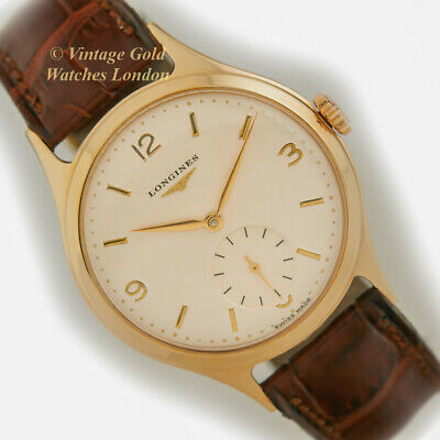 Longines Cal.12.68Z, 9Ct Gold, 1957 - Classic And Immaculate!
