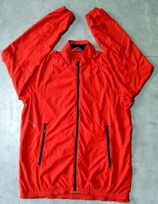 Mens Adidas Formotion Red Climacool Golfing jacket Windproof Large Breathable