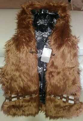 Disney Store Her Universe Star Wars Chewbacca Vest Size Xs Womens New With Tags