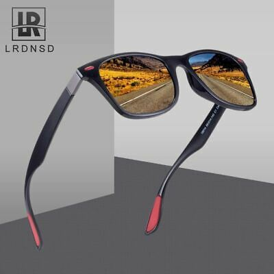 LRDNSD Brand Design Classic Polarized Sunglasses Men Women Driving Square Frame