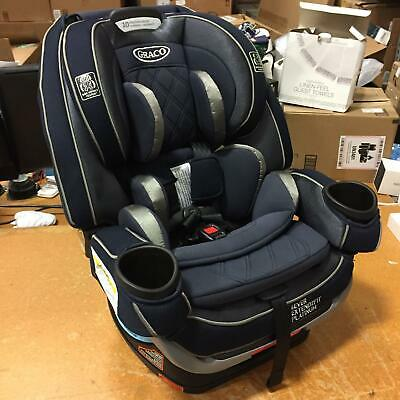 Graco Baby 4Ever Extend2Fit Platinum 4-in-1 Convertible Safety Car Seat, Ottlie