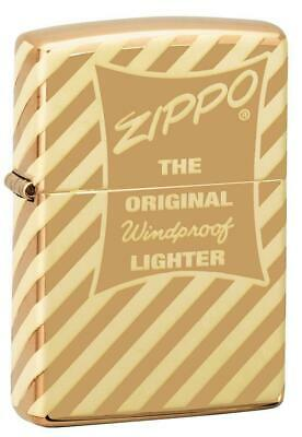 Zippo Windproof 360 Degree Laser Engraved Vintage Lighter, 49075, New In Box