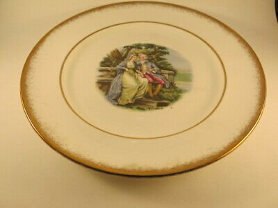 Imperial Fine Bone China Courting Couples 22 Kt Gold