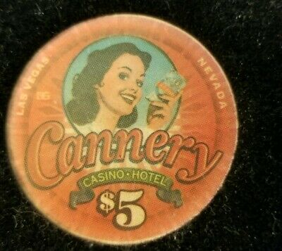 $5 Casino Cannery Las Vegas, Nevada NV Poker Gaming Cards Hotel North