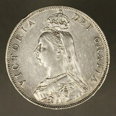 Great Britain 1890 1/2 Double Florin