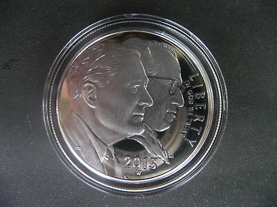 2015 W March of Dimes silver proof dollar in original airtite