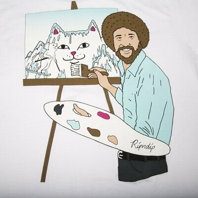 Ripndip Beautiful Mountain Art White T-Shirt