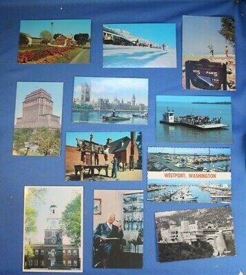 Lot Of 150 Post Cards Mostly Photo - Please Read