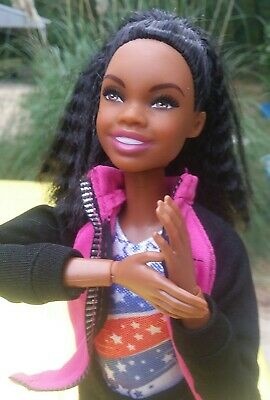 Barbie Made To Move AA Ultimate GABBY DOUGLAS Articulated Doll