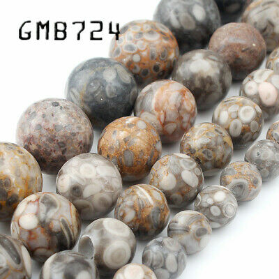 Natural Maifan Stone 6/8/10/12mm 15 Inch Lava Volcanic Rock Round Loose Beads