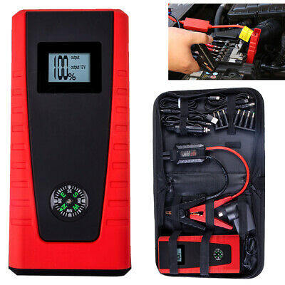 E-POWER Bank Portable Vehicle Jump Starter Car Battery Charger Torch Lithium AU